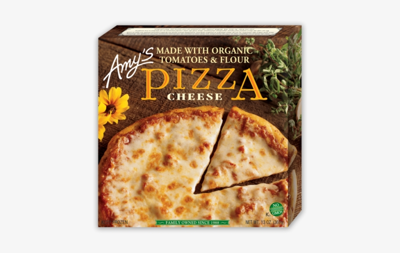 Amy's Cheese Pizza - Amy's Cheese Pizza - 13 Oz Box, transparent png #2154711