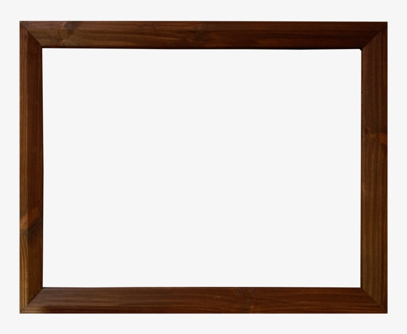 Image of wooden photo frame png