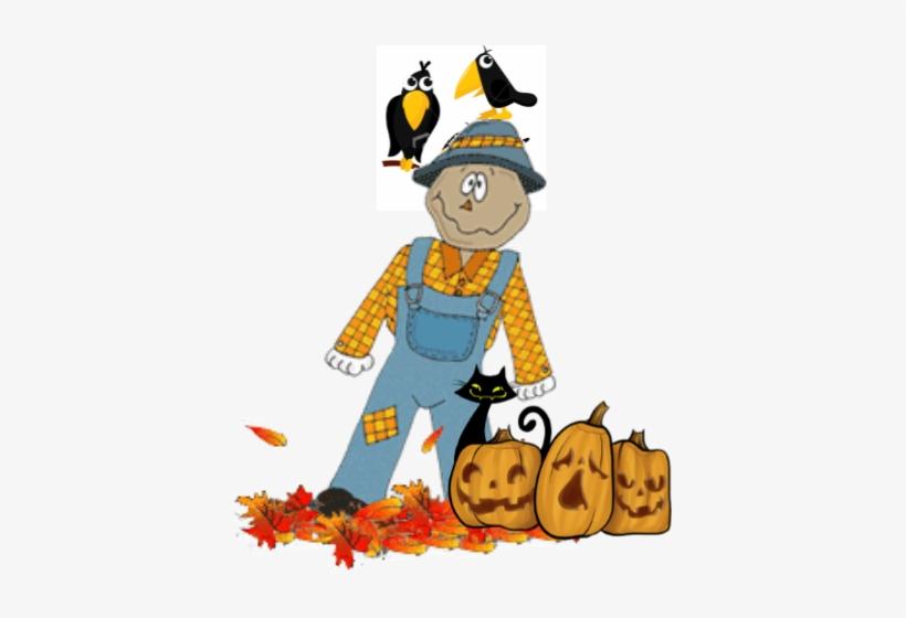 Scarecrow-2015 - Pumpkin Scarecrows Png Transparent, transparent png #2162117