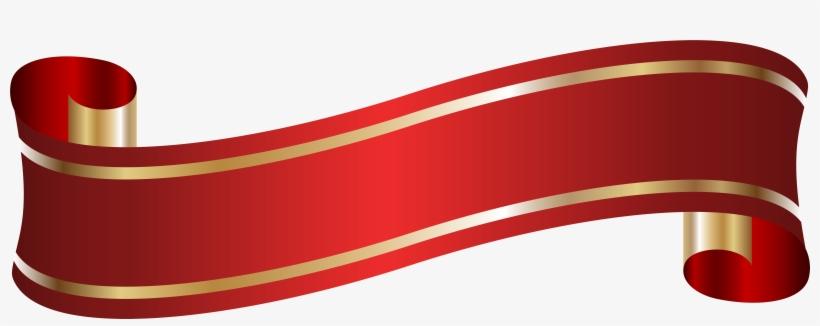 Red Ribbon Banner Png For Kids - Blue Ribbon Banner Png, transparent png #2162907