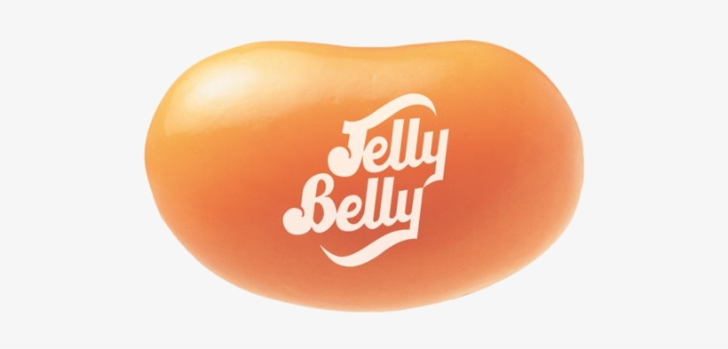 Jelly Belly Orange Sherbet Jelly Beans - Jelly Bean Chocolate Pudding, transparent png #2167631