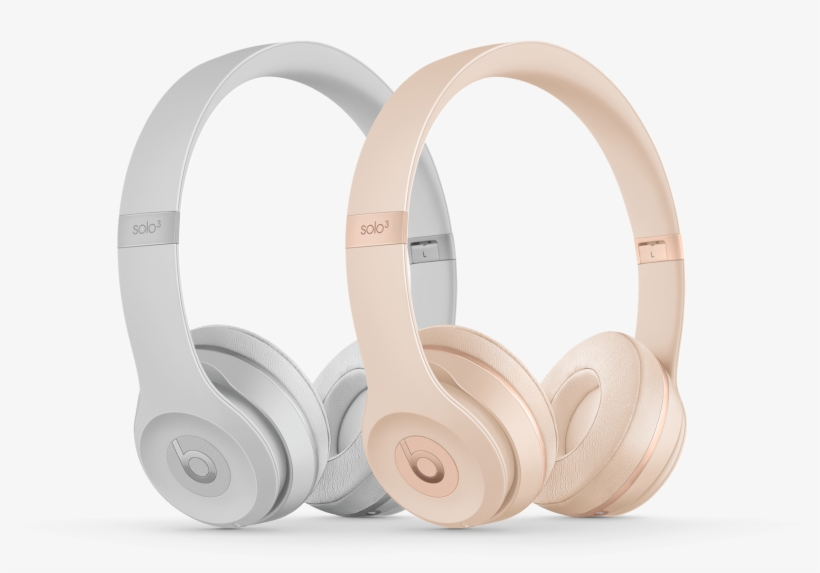 Beats Mixr - Beats Solo3 On-ear Bluetooth Headphones - Matt Silver, transparent png #2168759