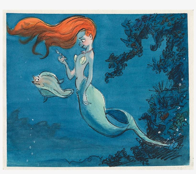 La Sirenita, - Walt Disney Animation Studios The Archive Series Design, transparent png #2171014