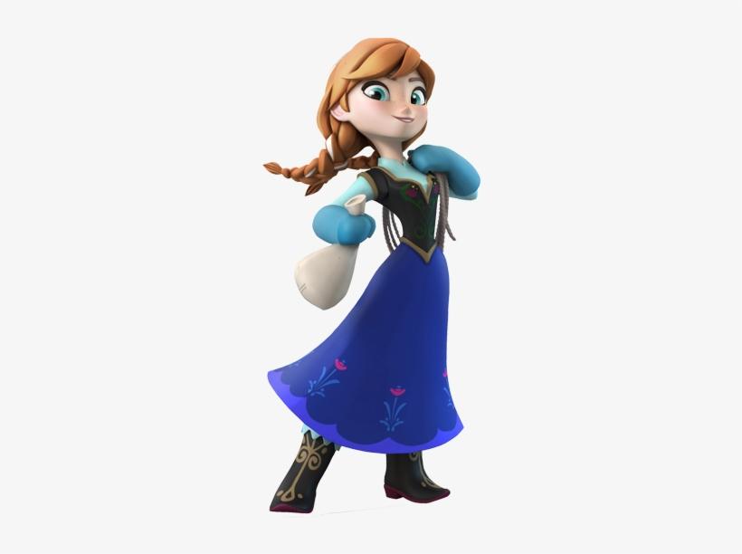 Anna - Disney Infinity Princess Anna, transparent png #2171241