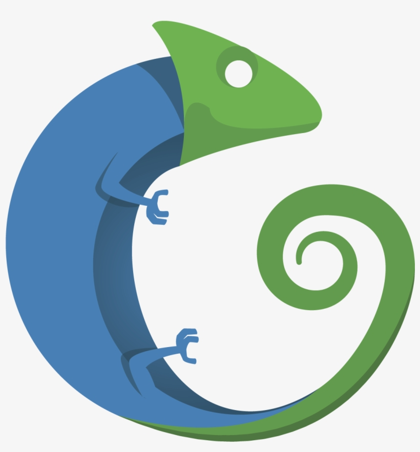 Chameleon Logo Without Text - Logo Image Without Text, transparent png #2171636