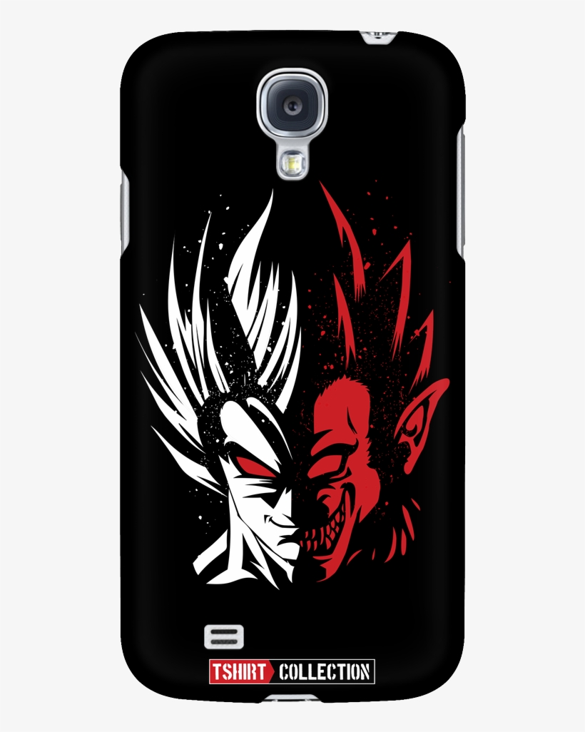 Super Saiyan Goku Half Face Android Phone Case- Pf00248ad - Dragon Ball Z, transparent png #2173146