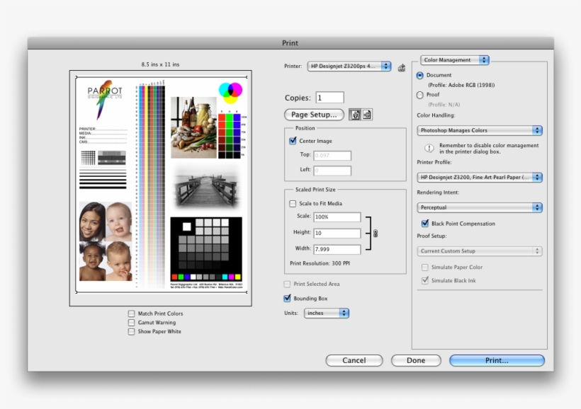 Make - Color Print Test Page Pdf, transparent png #2176009