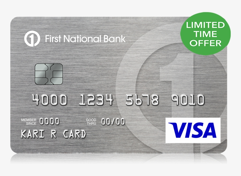 is first national credit card good