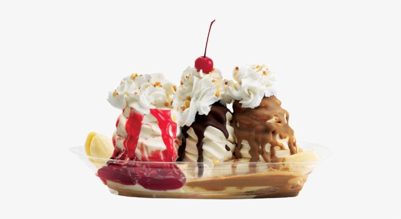 Ice Cream Desserts Png Image With Transparent Background - Soft Ice Cream Sundae, transparent png #2179871
