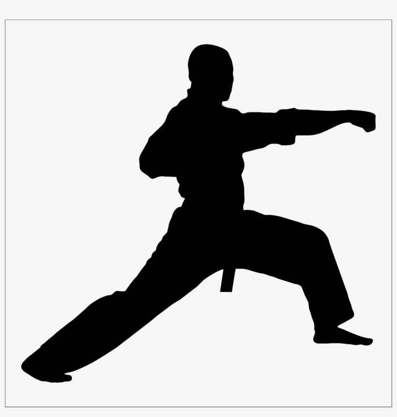 Karate Kick Transparent Image - Taekwondo Cake Topper - Free