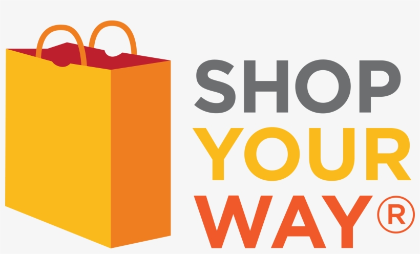 Shopping Transparent Logo Png - Shop Your Way Rewards Logo, transparent png #2181074