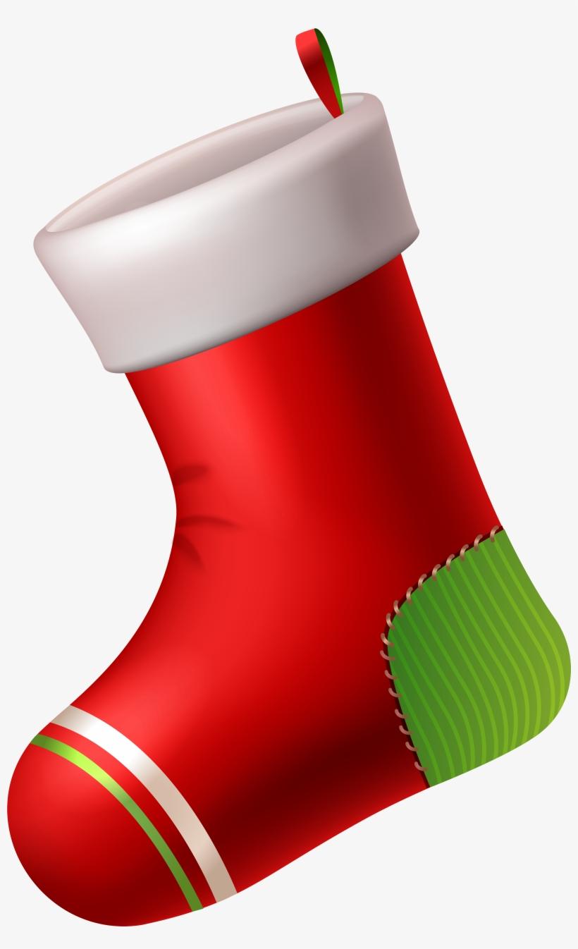 Santa Claus Christmas Stocking, transparent png #2183980