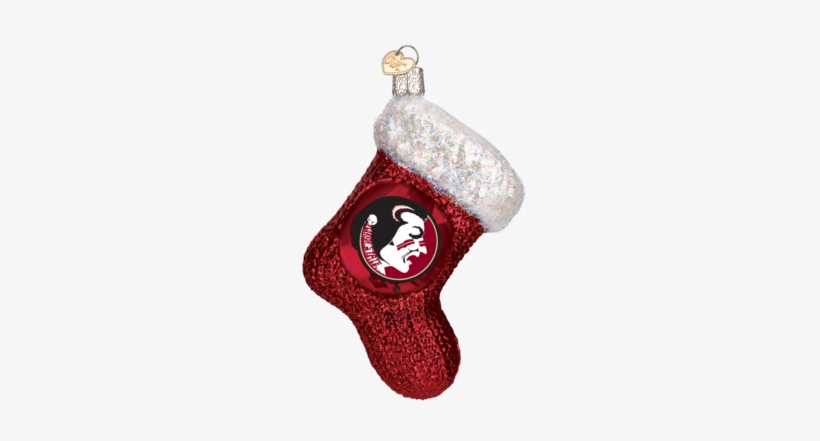Florida State Stocking Ornament - Rutgers Christmas, transparent png #2184115