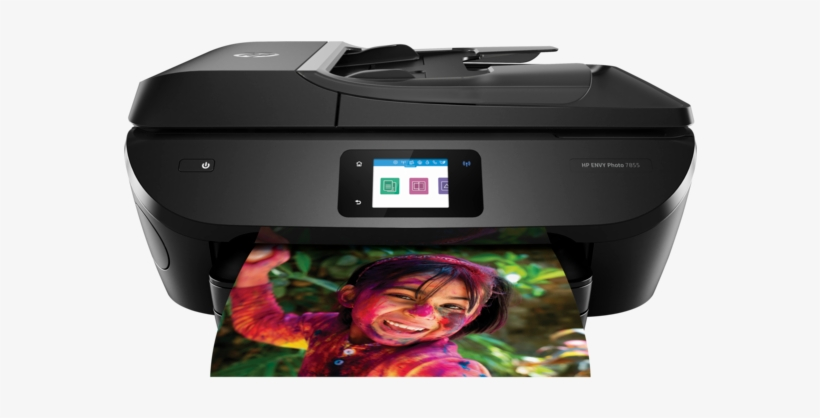 Hp Envy Photo 7855 All In One Printer, transparent png #2184193