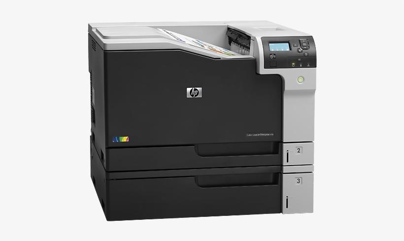 Hp Laserjet M750 - Hp Color Laserjet Enterprise M750dn D3l09a, transparent png #2184327