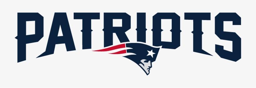 New England Patriots - New England Patriots Wordmark, transparent png #2185232