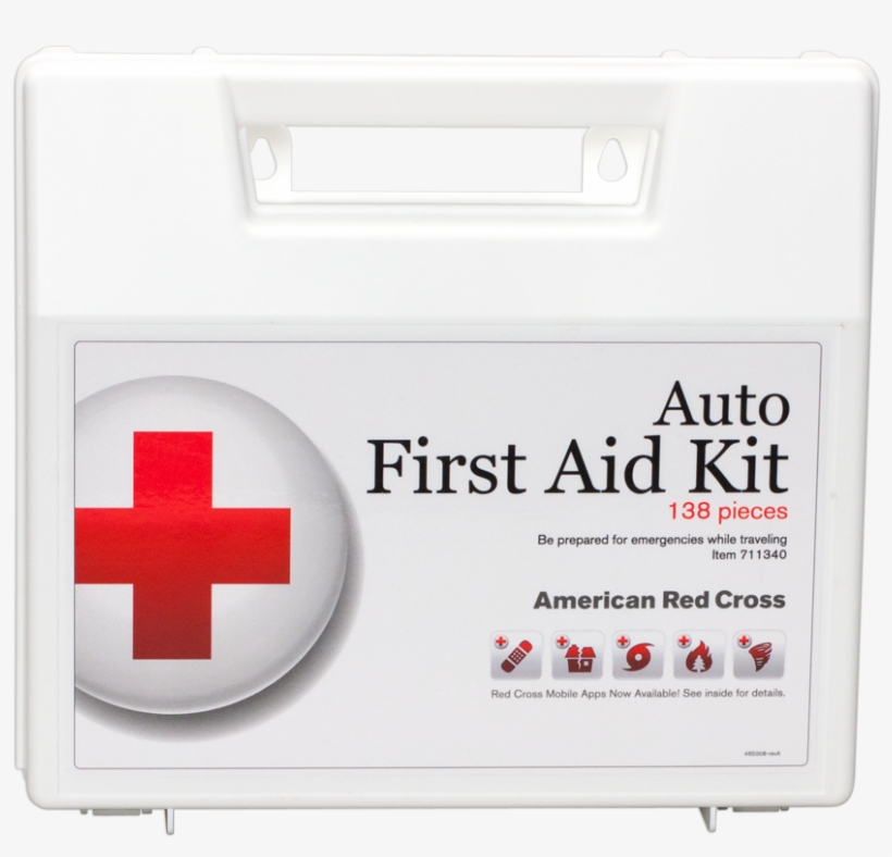 Deluxe Auto First Aid Kit Deluxe Auto First Aid Kit - American Red Cross Auto First Aid Kit 711320, transparent png #2186065