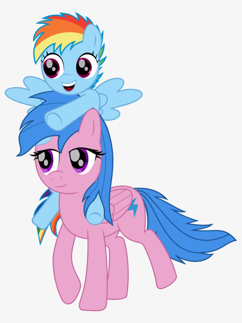 Rainbow Dash And Firefly - Zephyr And Rainbow Dash Eg, transparent png #2186662