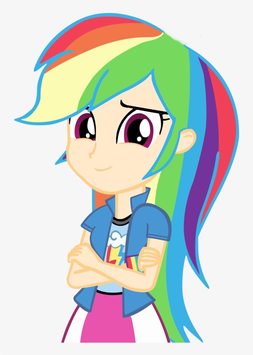 Mlp Pony, Equestria Girls, Rainbow Dash, Rainbow Rocks, - Equestria Girls Rainbow Factory, transparent png #2186968