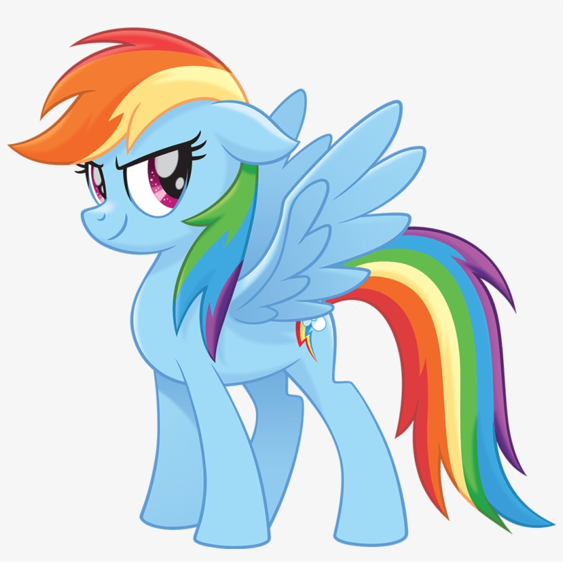 Image Mlp The Rainbow Dash Official Artwork Png My - Mlp Movie Rainbow Dash, transparent png #2187053