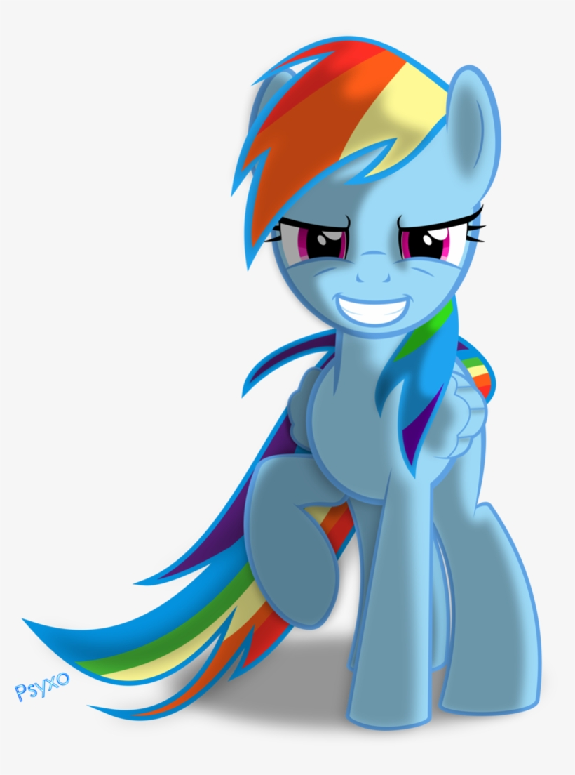 32 Images About Rainbow Dash On We Heart It - Mlp Rainbow Dash Base, transparent png #2187080
