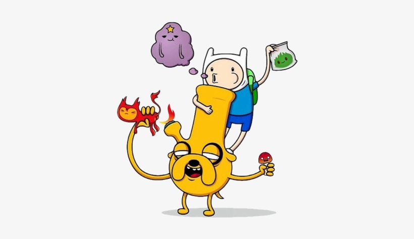 Clip Free Cannabis Provisions Legal Weed For Anyone - Adventure Time Smoking Weed, transparent png #2190151