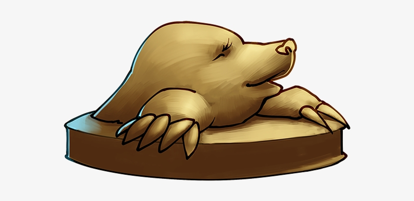 At First I Just Wanted To Draw A Mole Today For Some - California Sea Lion, transparent png #2191887