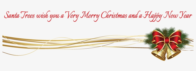 Christmas Bells Decoration - Merry Christmas Decoration Png, transparent png #2192112