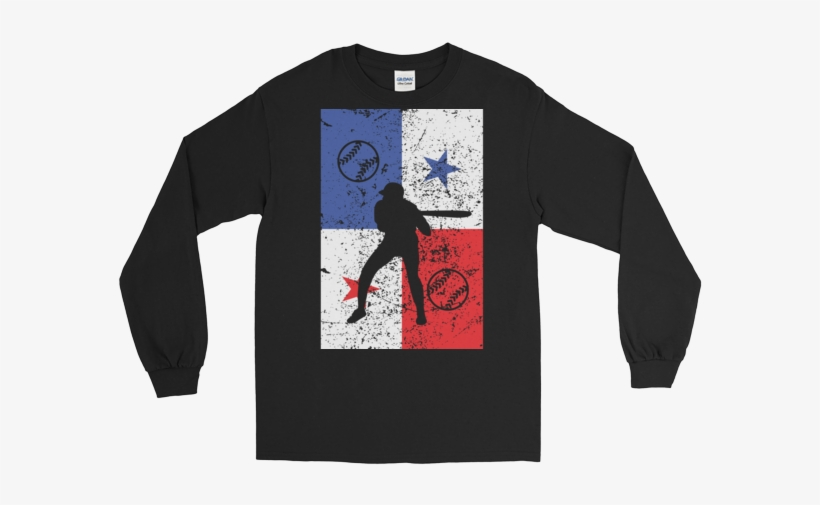 Long Sleeve Panama Flag - Thoughts Of Peace Kasual Long Sleeve, transparent png #2192636