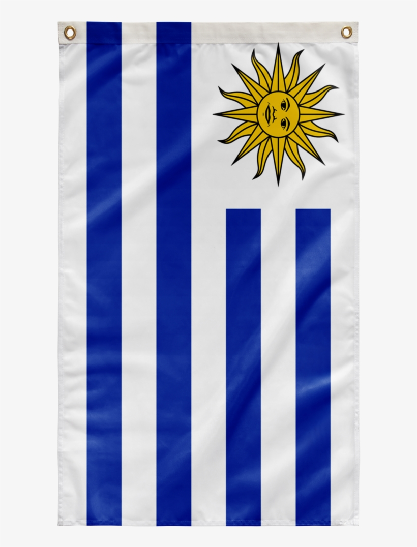 """36""""x60"""" Flag Of Uruguay - Sun Of May Shot Glass, transparent png #2194158"""