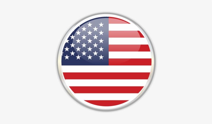 Flag Of Usa For English Idioma Español - English Arabic Language Icon, transparent png #2194229
