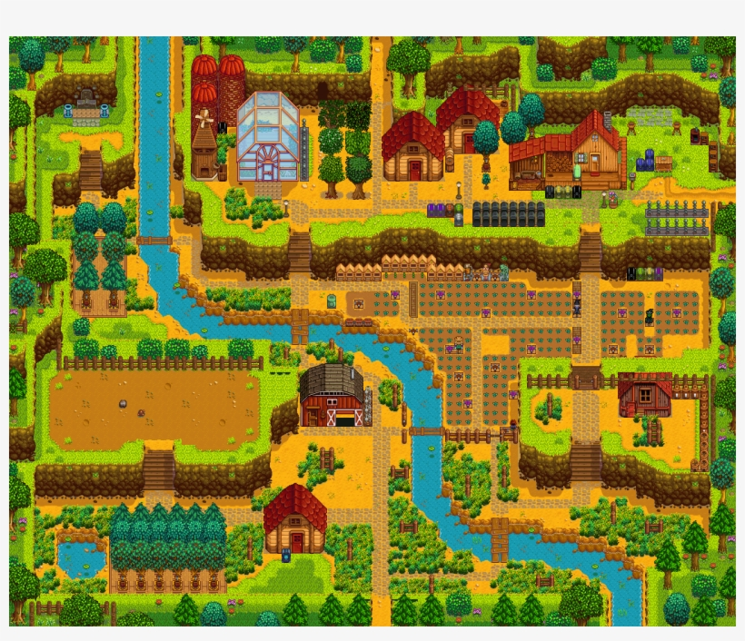 stardew valley mining farm