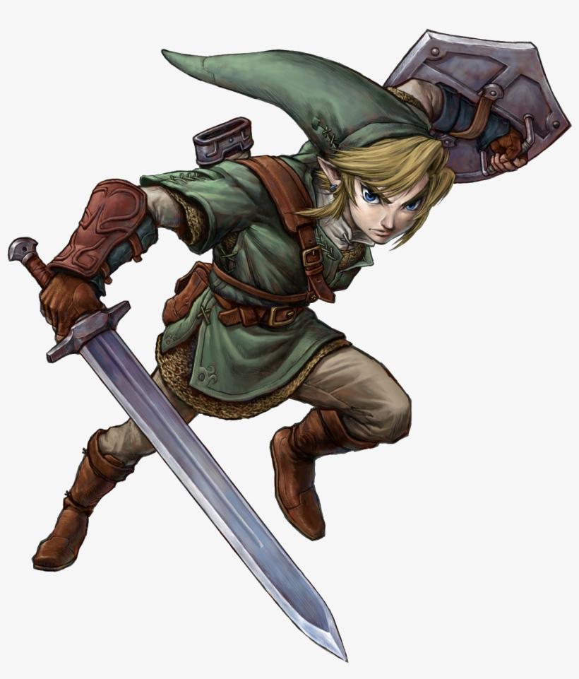 Legend Of Zelda Twilight Princess Hd Link, transparent png #2198830