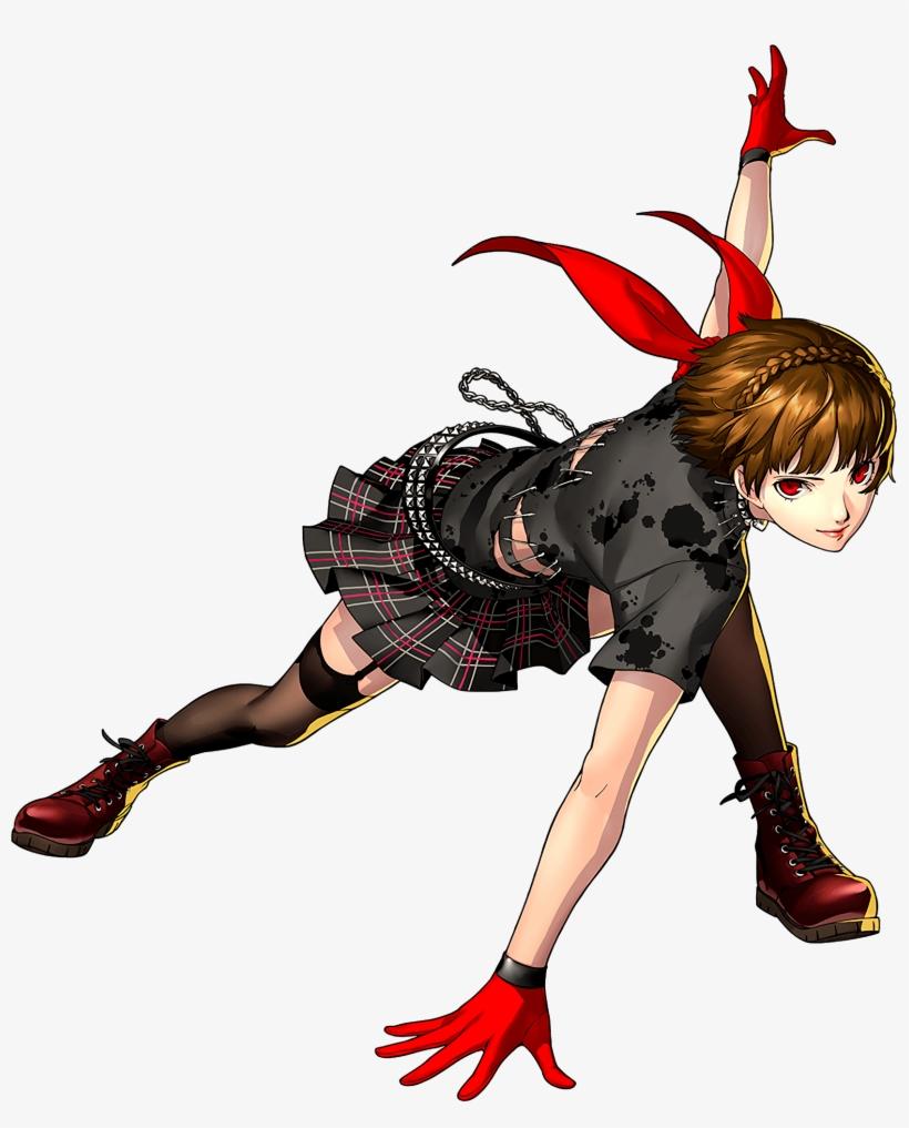 Fictional Character Art - Persona 5 Dancing Star Night Makoto, transparent png #221174