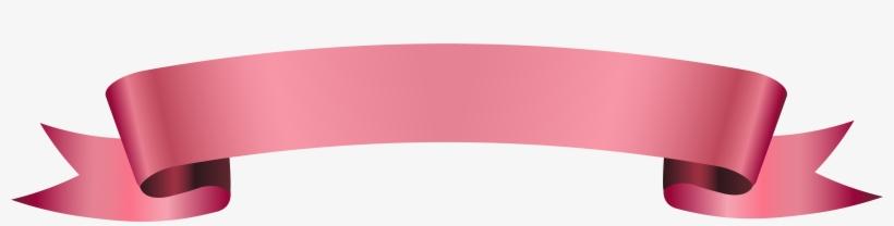 Pink Ribbon Banner Png, transparent png #221217
