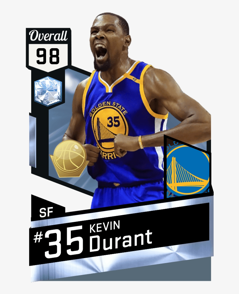 6a9421007ceb Kevin Durant - Diamond Kevin Durant 2k17 - Free Transparent PNG ...