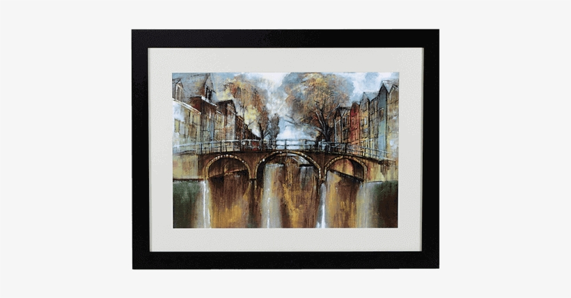 Amsterdam Picture - Picture Frame, transparent png #222357