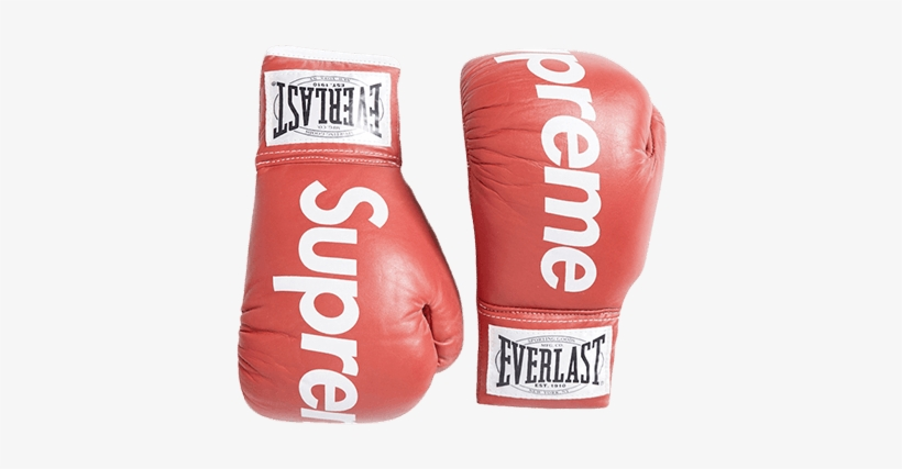 2008 Supreme X Everlast Boxing Gloves - Supreme - Free Transparent