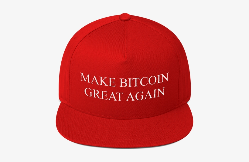 Make Bitcoin Great Again Donald Trump Hat - Make Snl Great Again Flat Bill Cap, transparent png #222682
