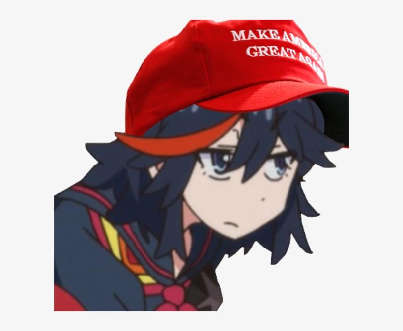 Ryuko Make America Great Again, transparent png #222834