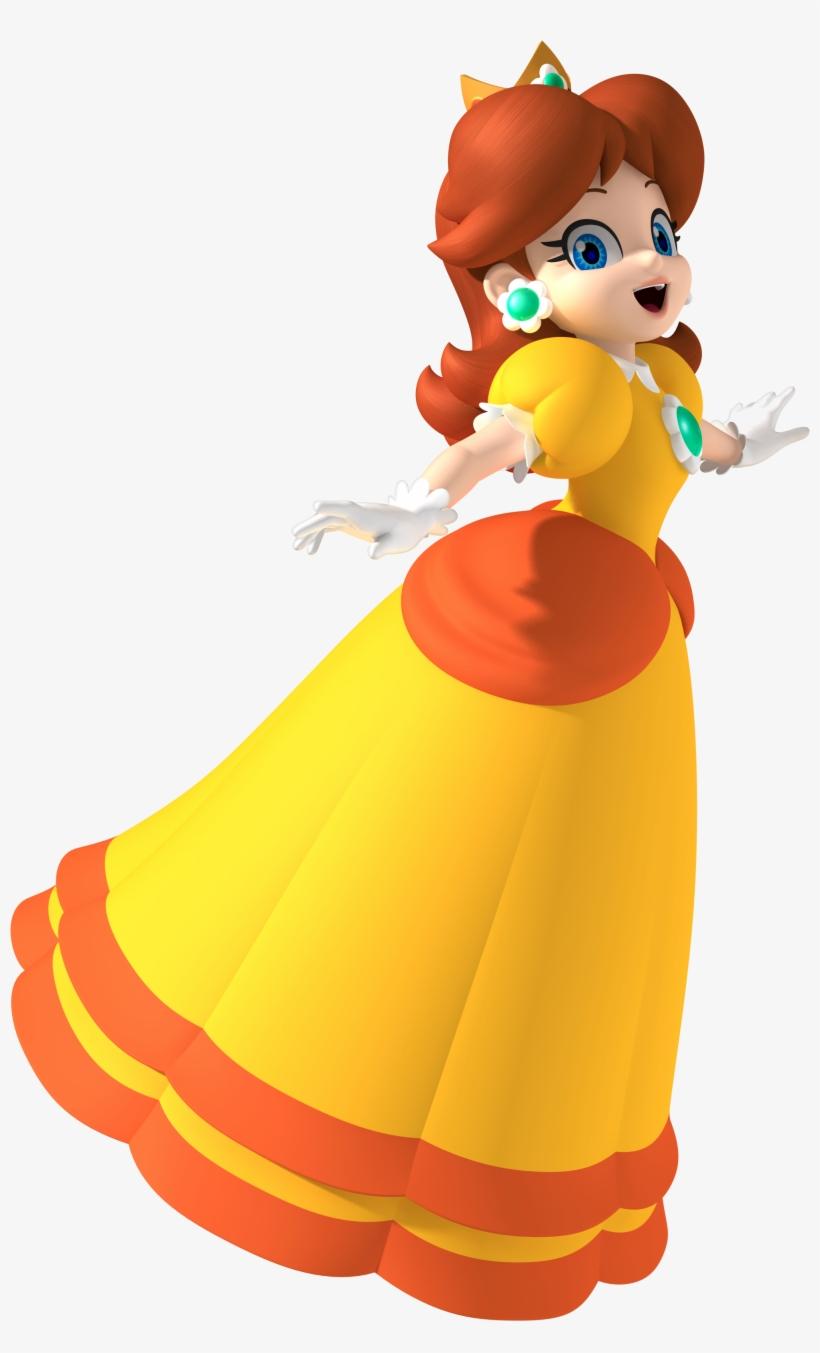 Based Off Of Princess Daisy - Princess Daisy Mario Party 8, transparent png #222970