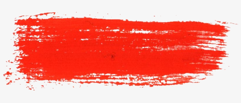 Free Download Red Dry Brush Stroke Png Free Transparent Png