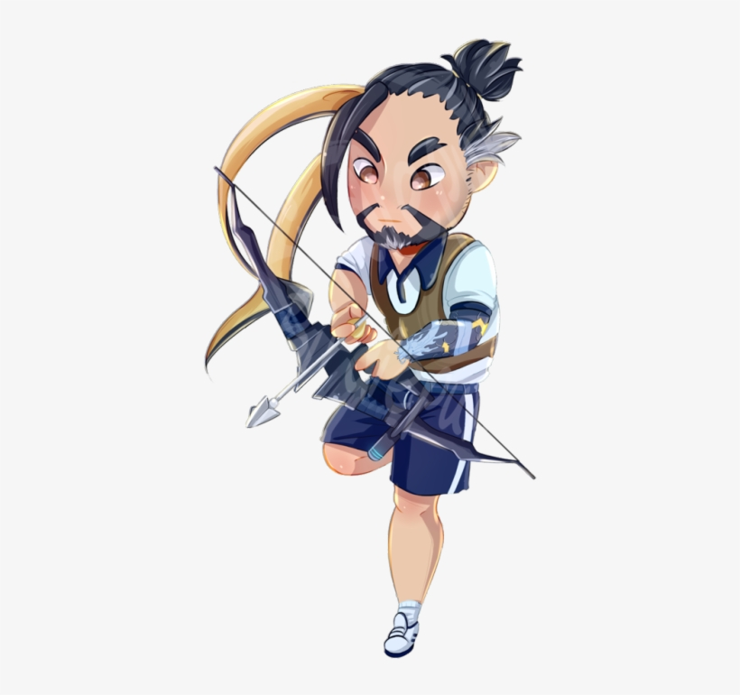 I Really Craved The Ugly Summer Event Hanzo Spray As - Pre-order* Overwatch Summer Event Charms, transparent png #223979