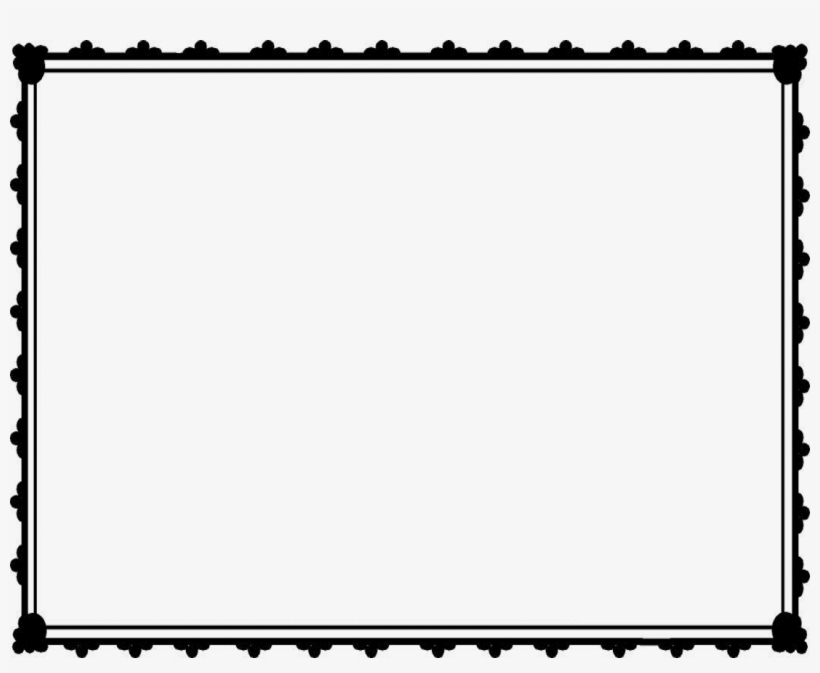 download borders clipart black and white
