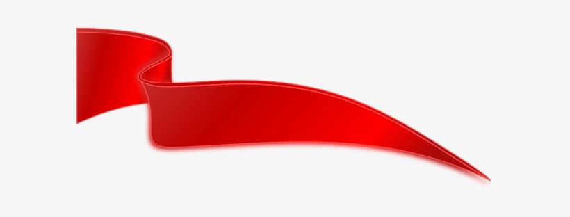Dark Red Ribbon Clip Art At Clker Com Vector Clip Art - Red Ribbon Png Vector, transparent png #225208