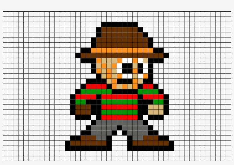 22-225231_freddy-krueger-pixel-art Pixel Art Maker Fnaf @koolgadgetz.com.info