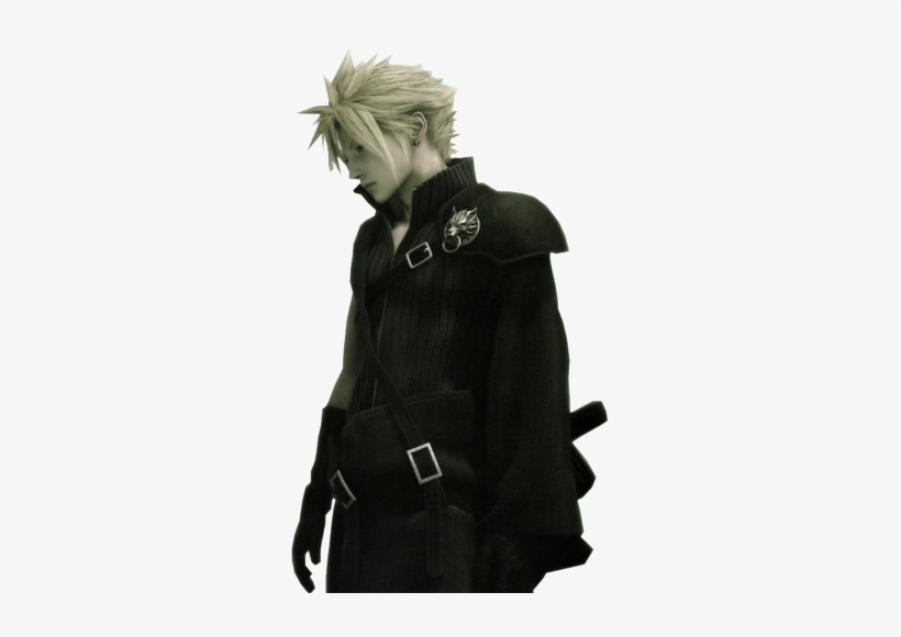"""Cloud Stands At 5'7"""" With A Lean Yet Muscular Build - Final Fantasy 7 Cloud Movie, transparent png #225961"""