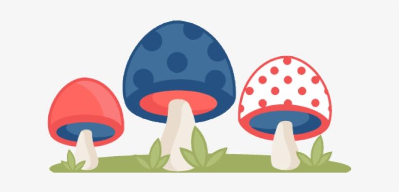 Mushroom Clipart Polka Dot - Cute Free Clipart Mushrooms, transparent png #226540