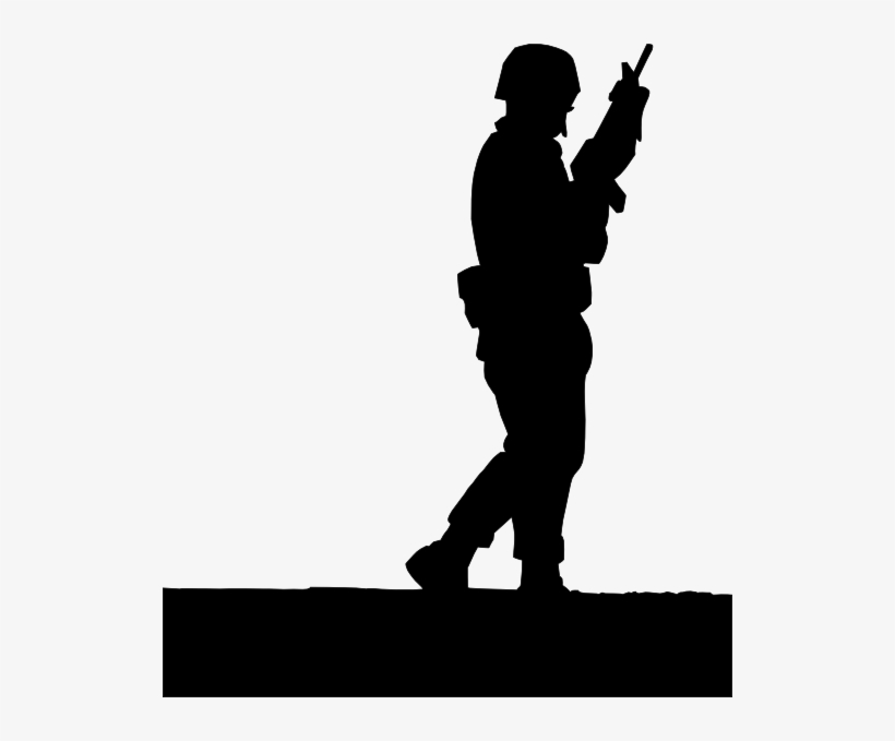 British Soldier Silhouette At Getdrawings - Shadow Of A Soldier, transparent png #226779