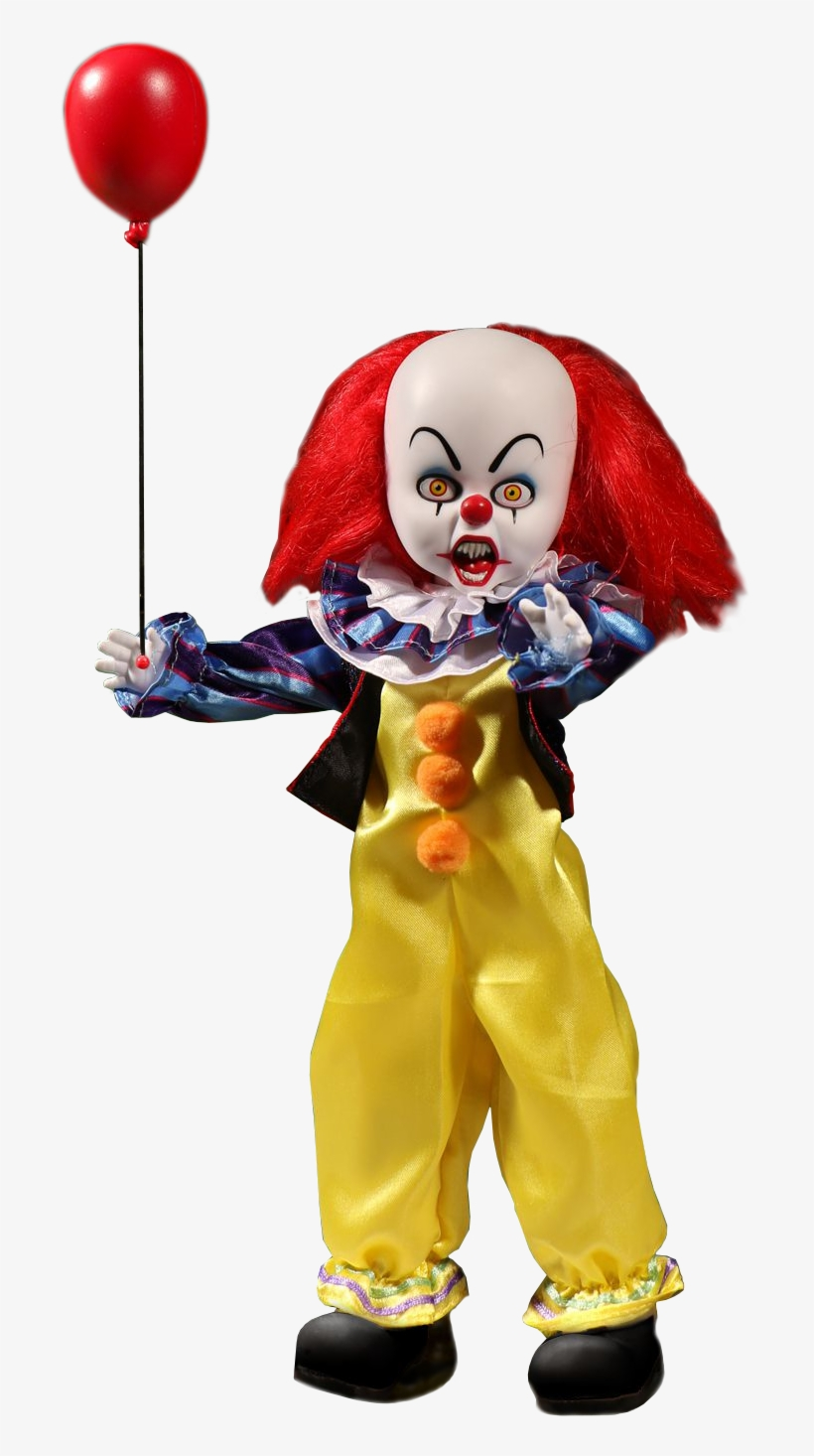 Living - Pennywise Living Dead Doll, transparent png #226864